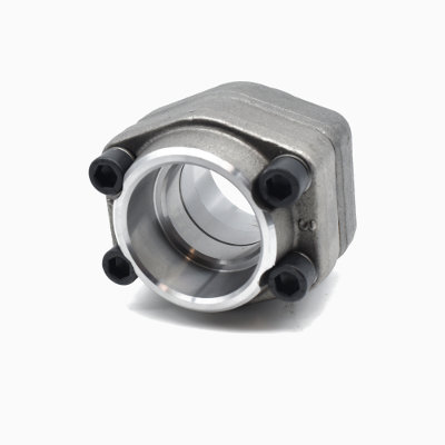 SAE double flange socket weld